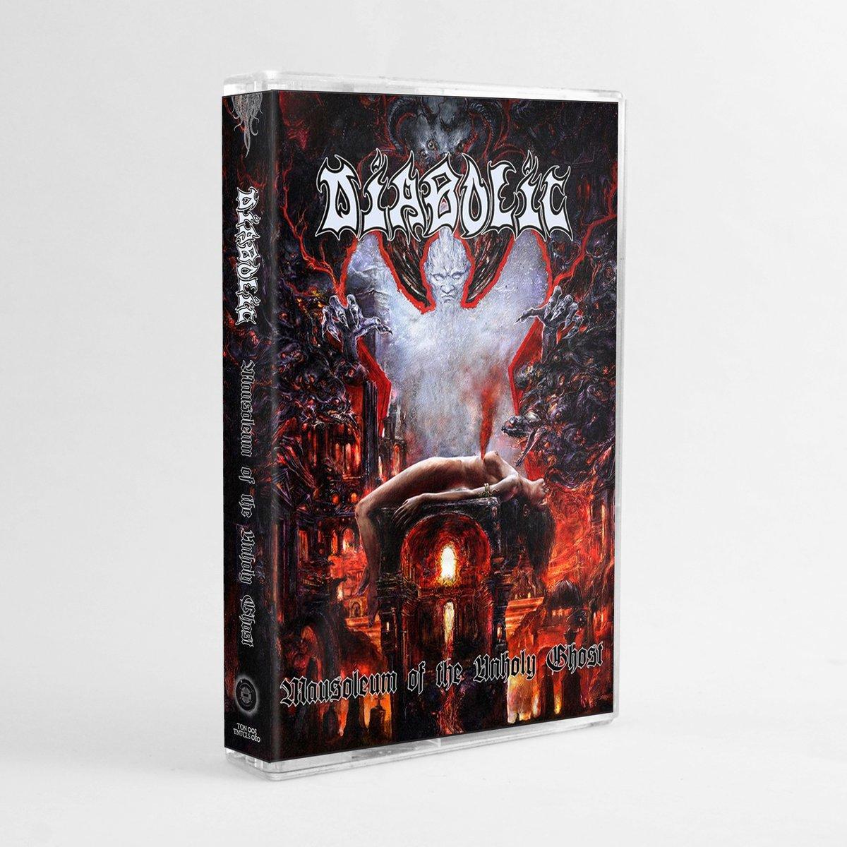 "TNTCLS 010 - DIABOLIC - ""Mausoleum of the Unholy Ghost"" - Ltd TAPE / Cassette"