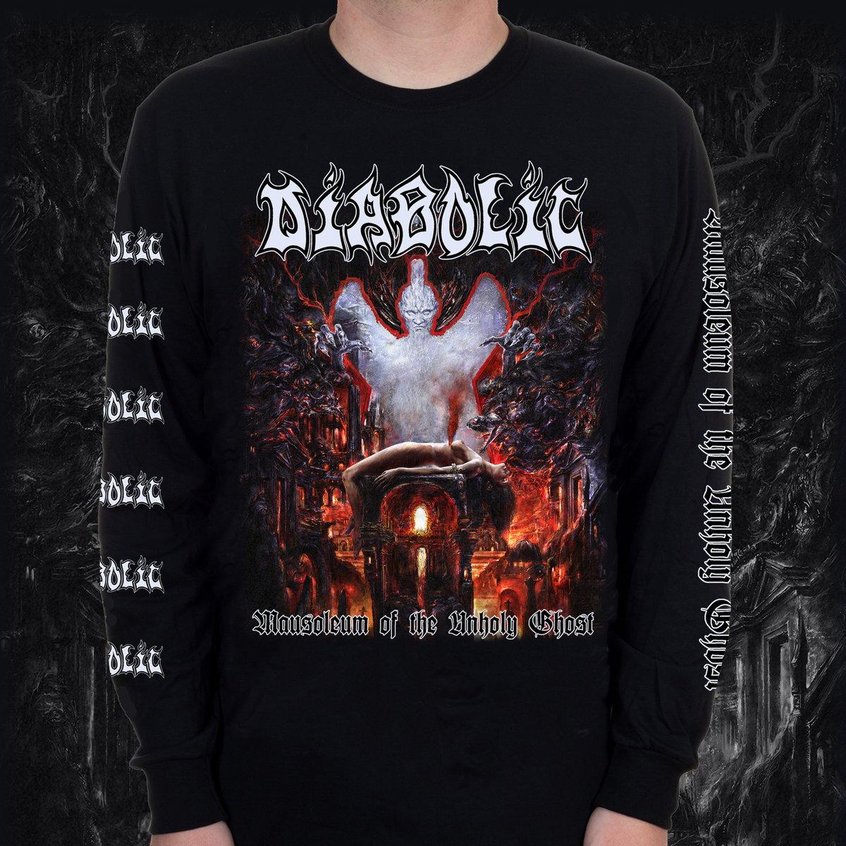"""LP / SHIRT BUNDLE - DIABOLIC - """"Mausoleum..."""""""