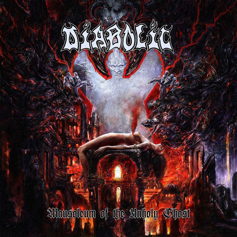 "TNTCLS 010 - DIABOLIC - ""Mausoleum of the Unholy Ghost"" - CD"