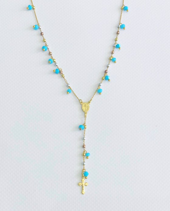 Image of Turquoise Single Rosary