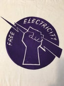 Image of FREE ELECTRICITY TEE-SHIRT - THE GO