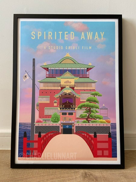 Image of Spirited Away Digital Art Print