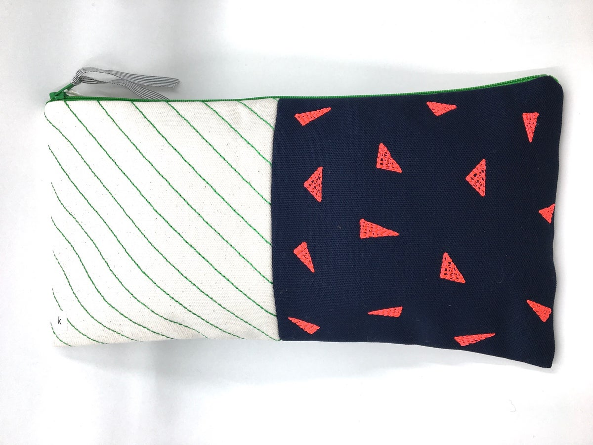 Large Patterned Pouch by K Studio
