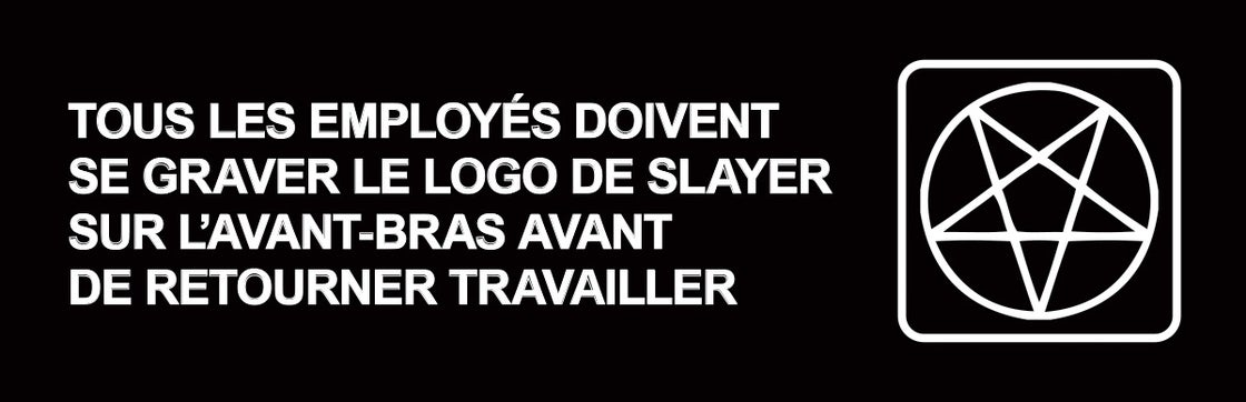 Image of Carve Slayer Stickers - FRENCH