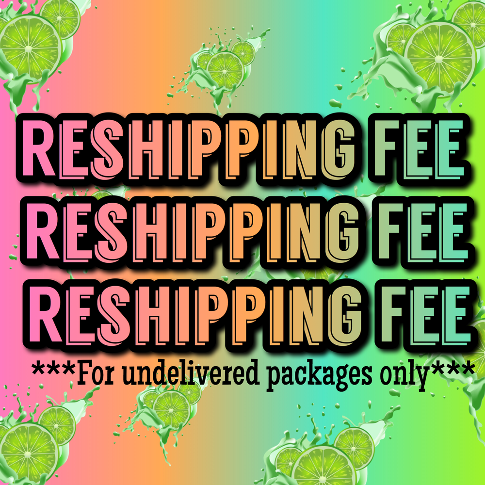 Image of RESHIPPING FEE