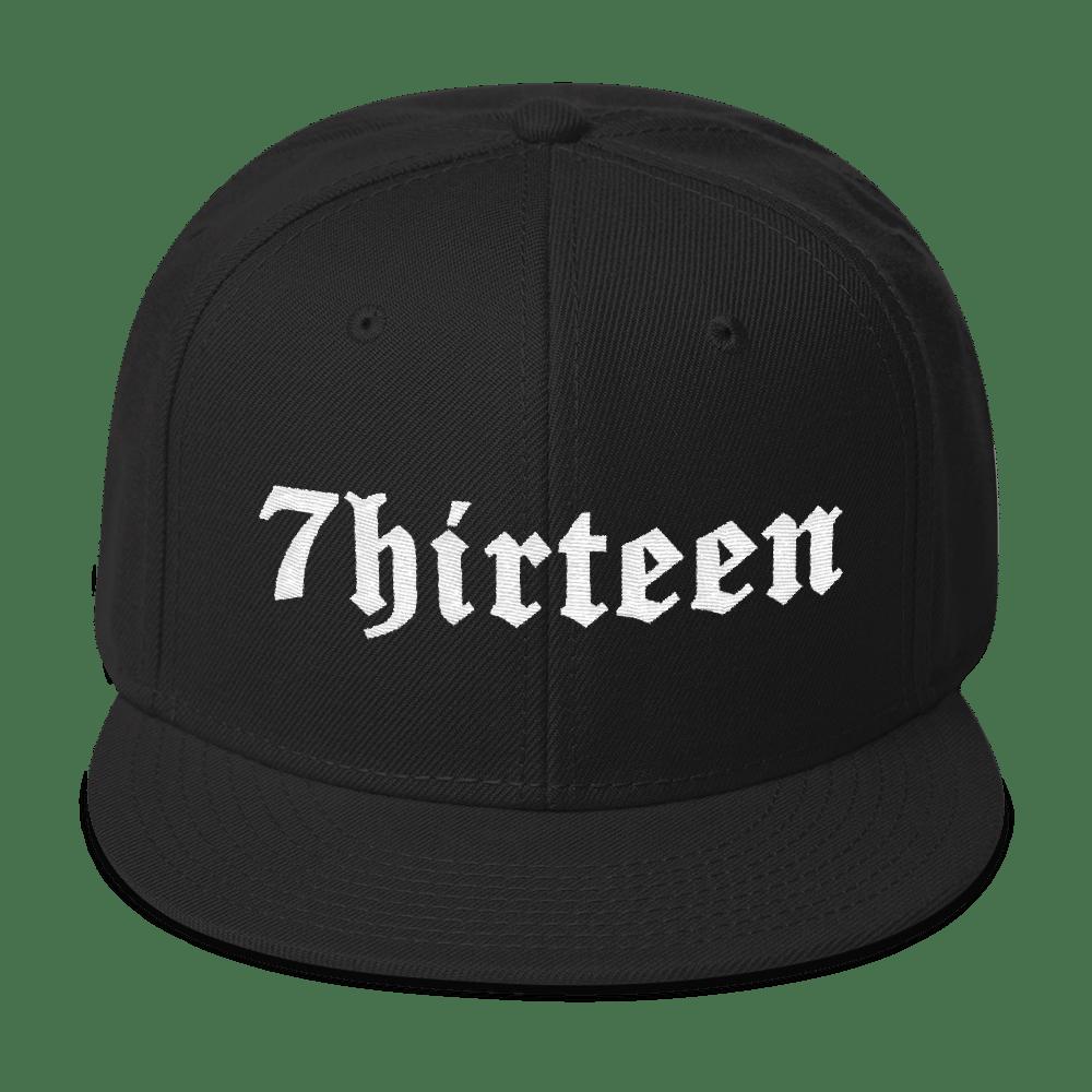 Image of 7HIRTEEN SNAPBACK CAP
