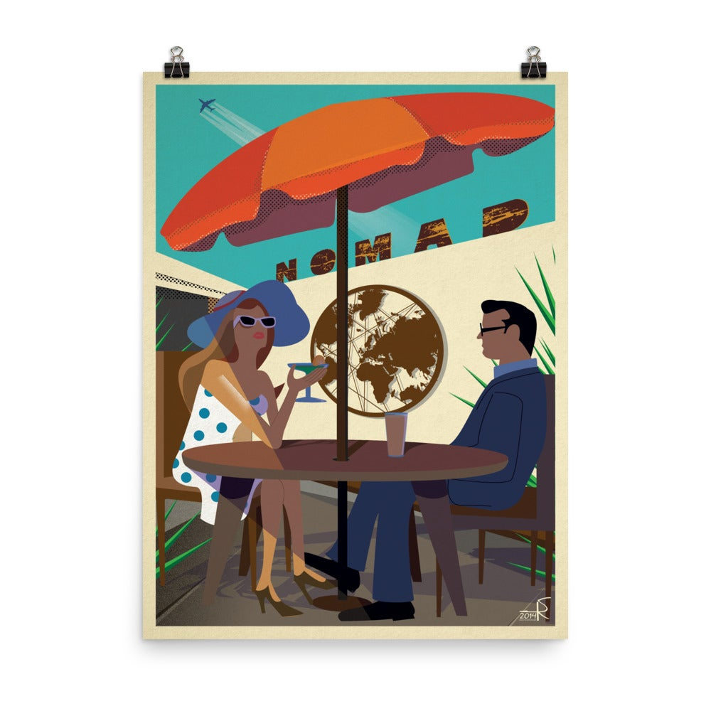 "Nomad 7th Anniversary ""Patio"" Poster 18""x24"""