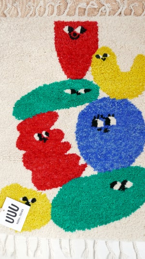 Image of Copy of Wool Rug for Kids - RUUUG Guimo