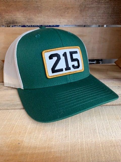 Green 215 Trucker Hat