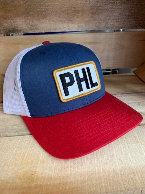 Blue + Red PHL Trucker Hat