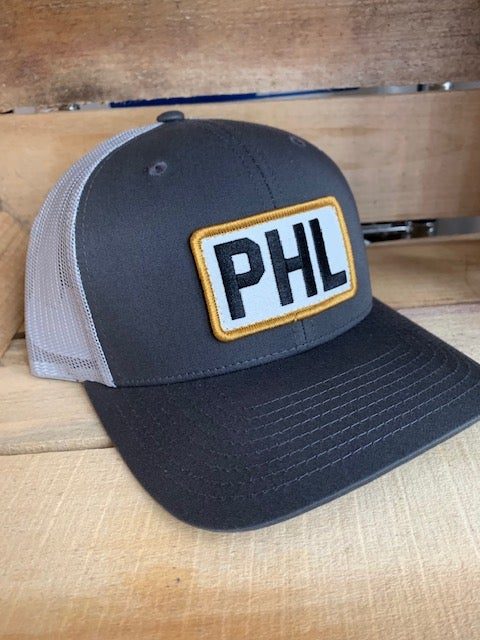 Grey PHL Trucker Hat