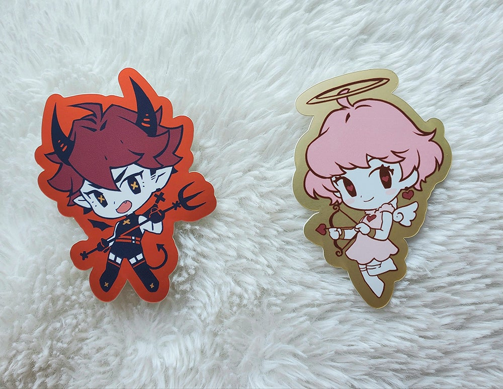 Image of Angel x Devil Sticker