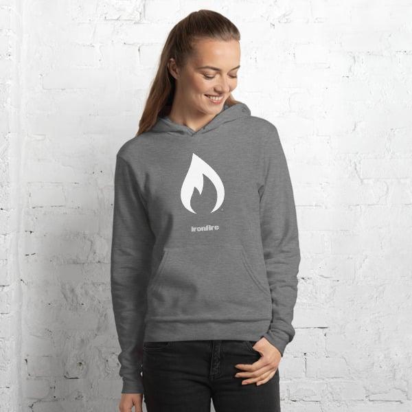 Image of Flame Logo Hoodie