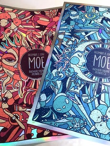Image of Moe. 2 Night Foil Variant Set - ATL 2018