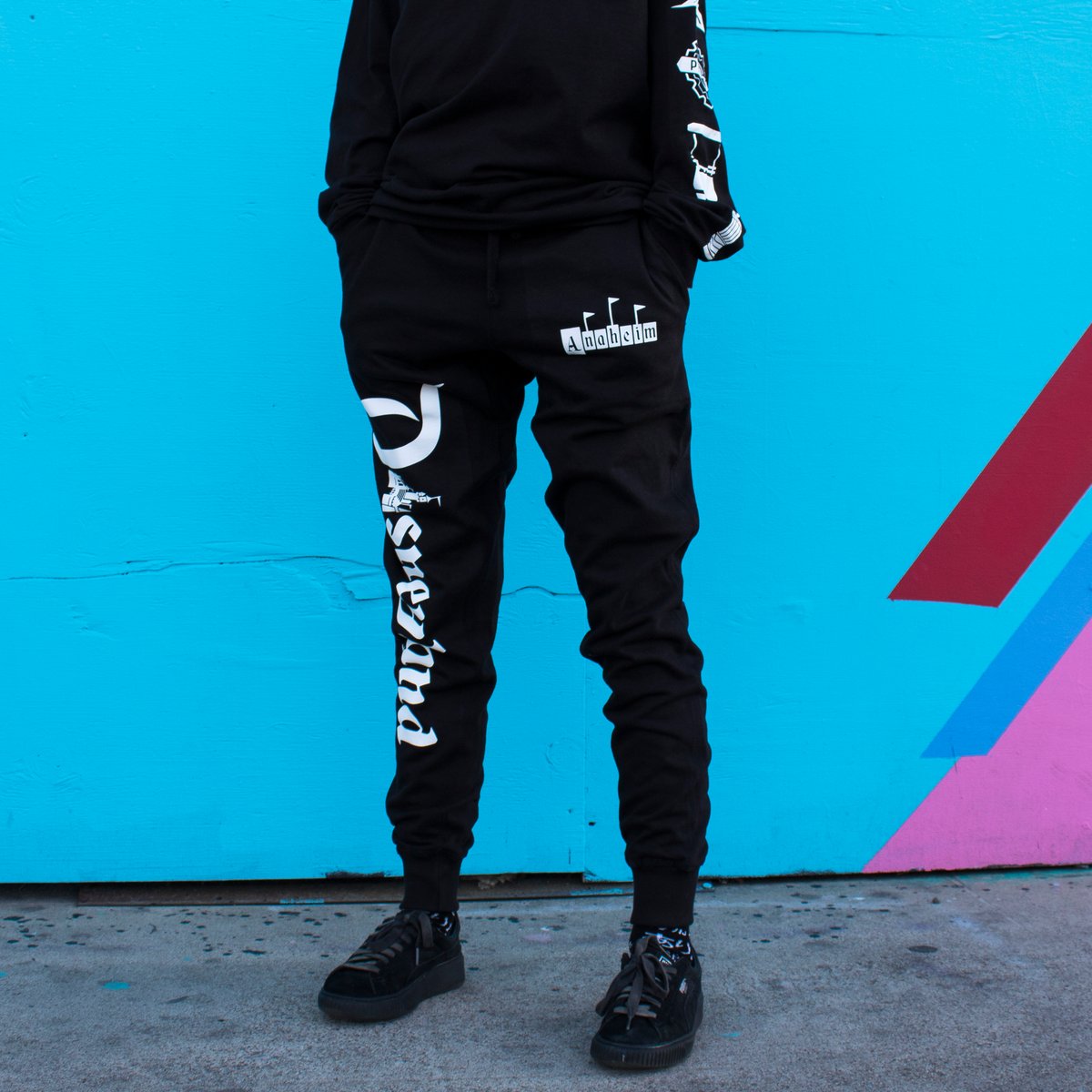 Image of 1955 Joggers Black
