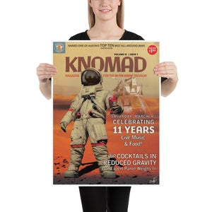 "Knomad 11th Anniversary Poster 18""x24"""