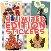 Image of SLAPS STICKER PACK (LESS THAN 20 LEFT!)