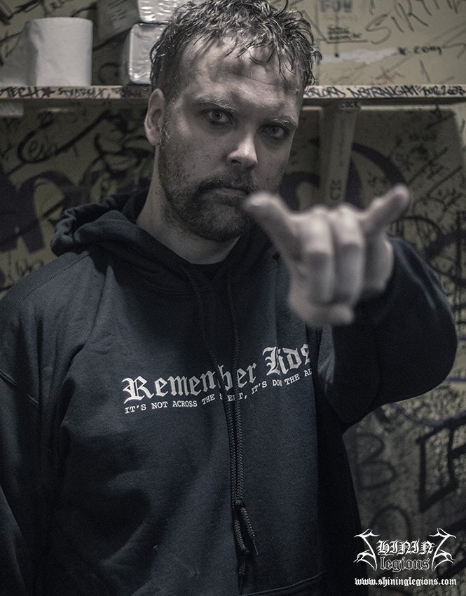 """Image of Shining """"Submit To Self-Destruction"""" Hoodie"""