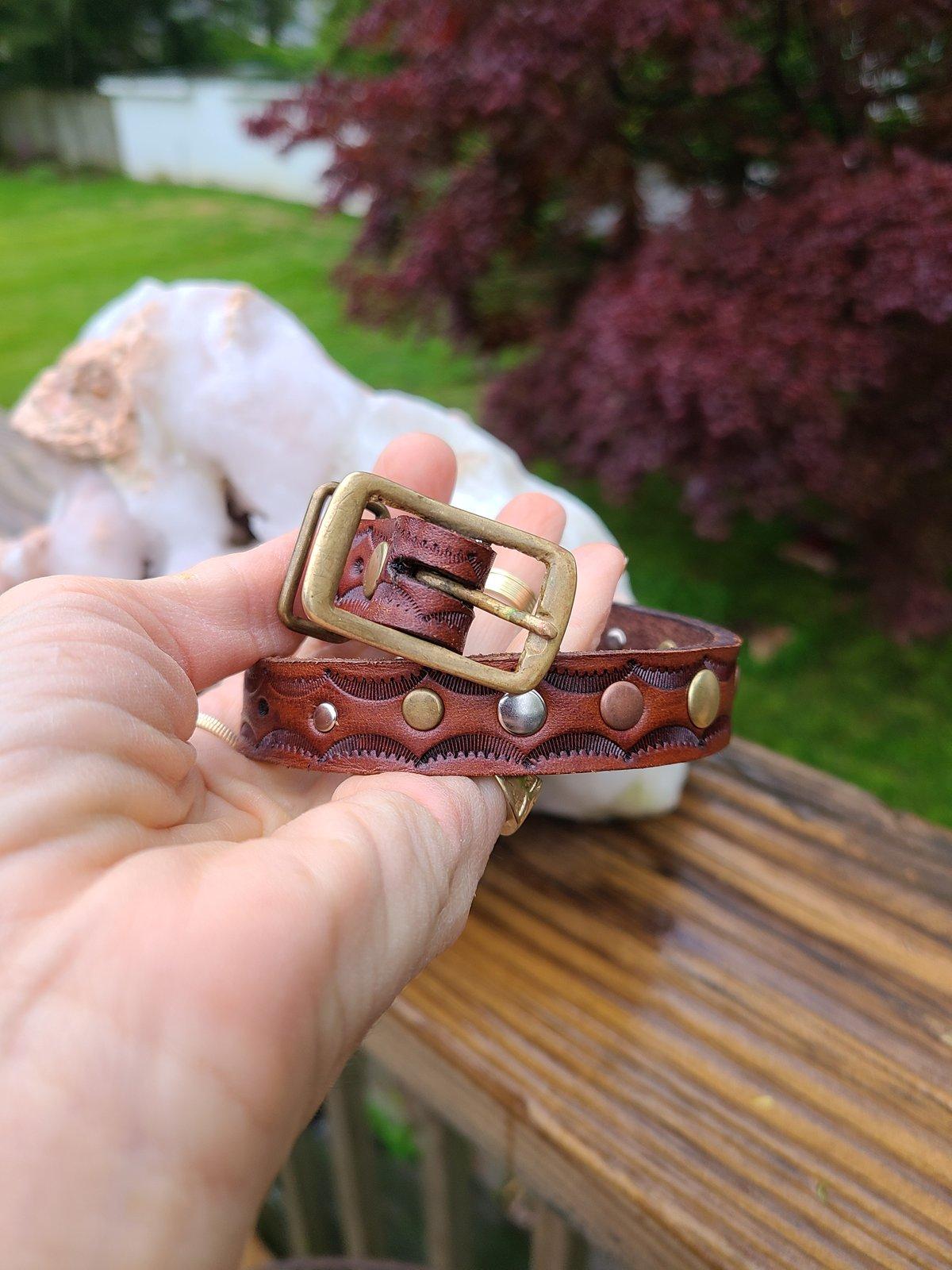 Rust Belt Collar