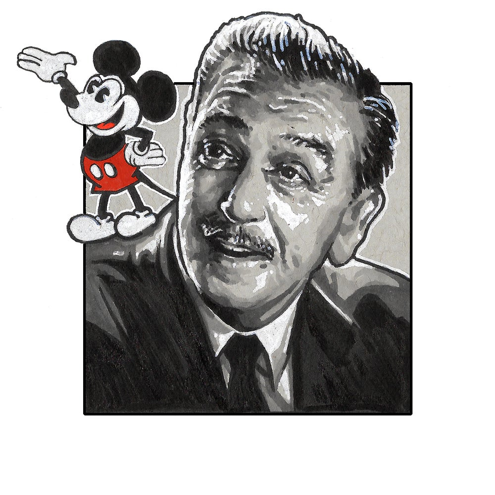Image of Walt Disney - Sketch Square