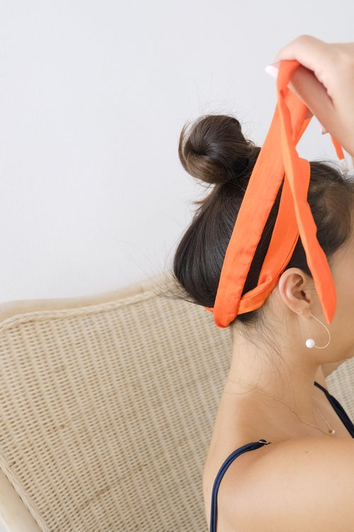 Image of knotted head band