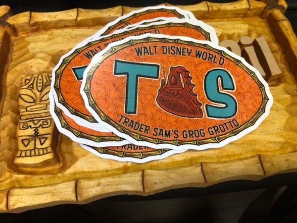 Image of Trader Sam's GG Sticker (East Coast)