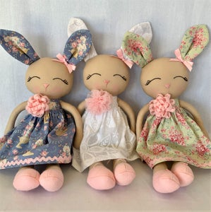 Image of Handmade  Bunny Dolls