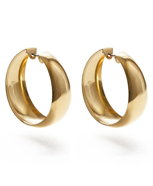 Image of Amano Genuine 70's Vintage Hoop Earrings