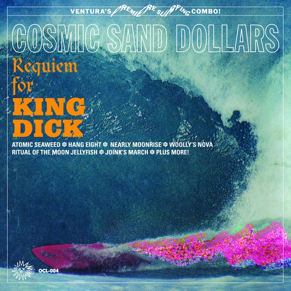 "Image of The Cosmic Sand Dollars ""Requiem for King Dick"" LP"
