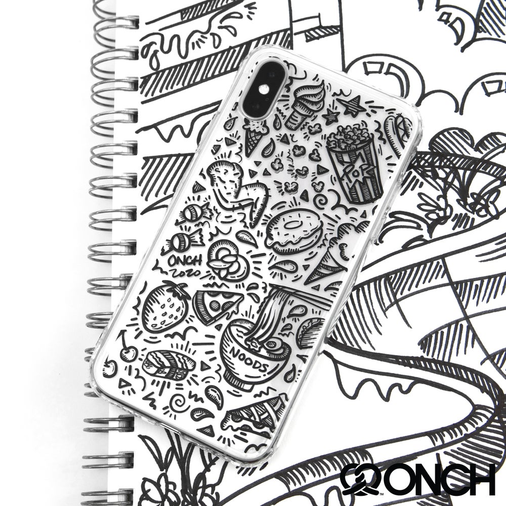 Image of Foodie Doodle Phone Case