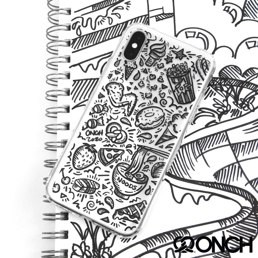 Image of Foodie Doodle Phone Case