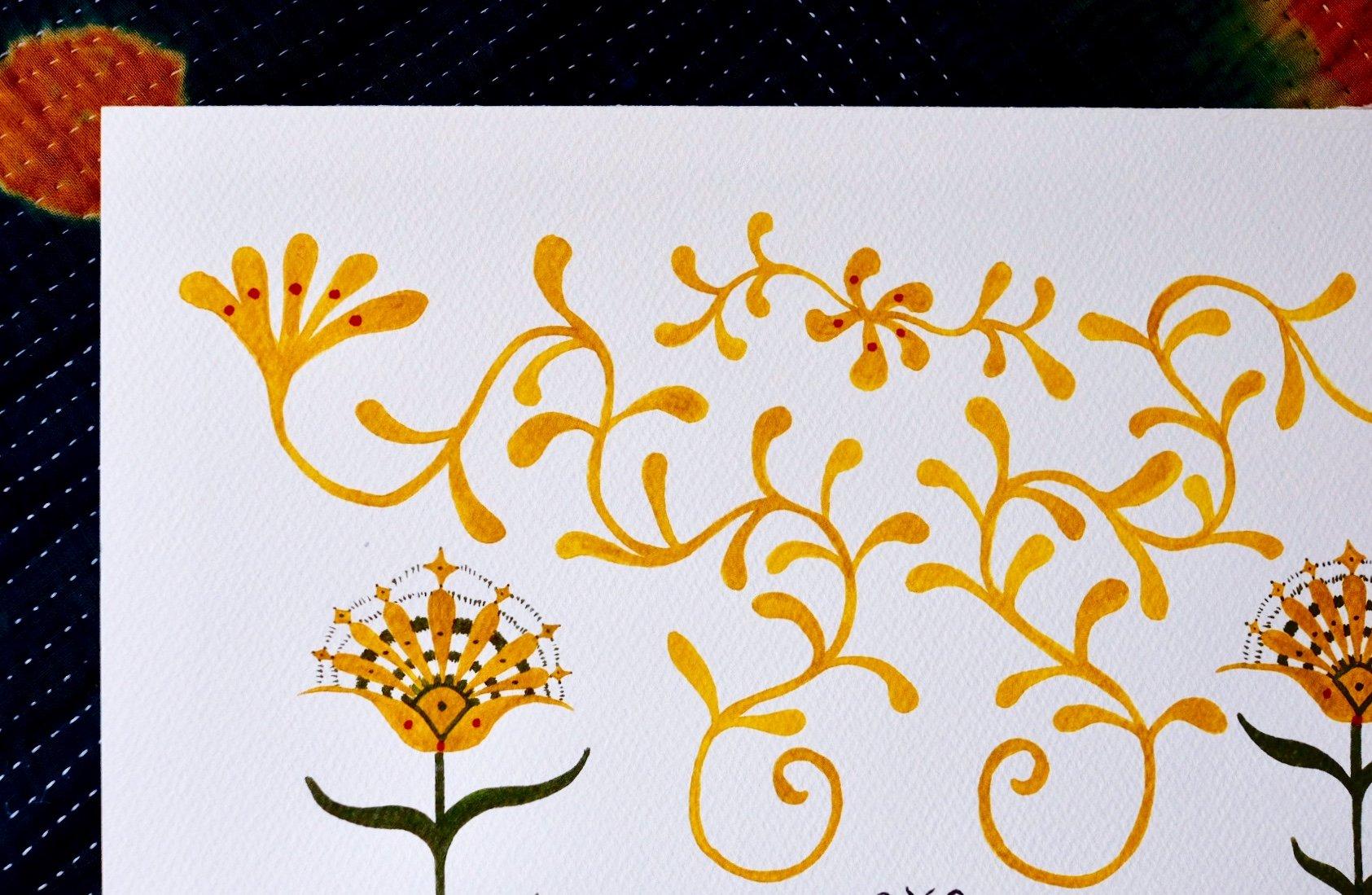 Image of flowers of sunlight