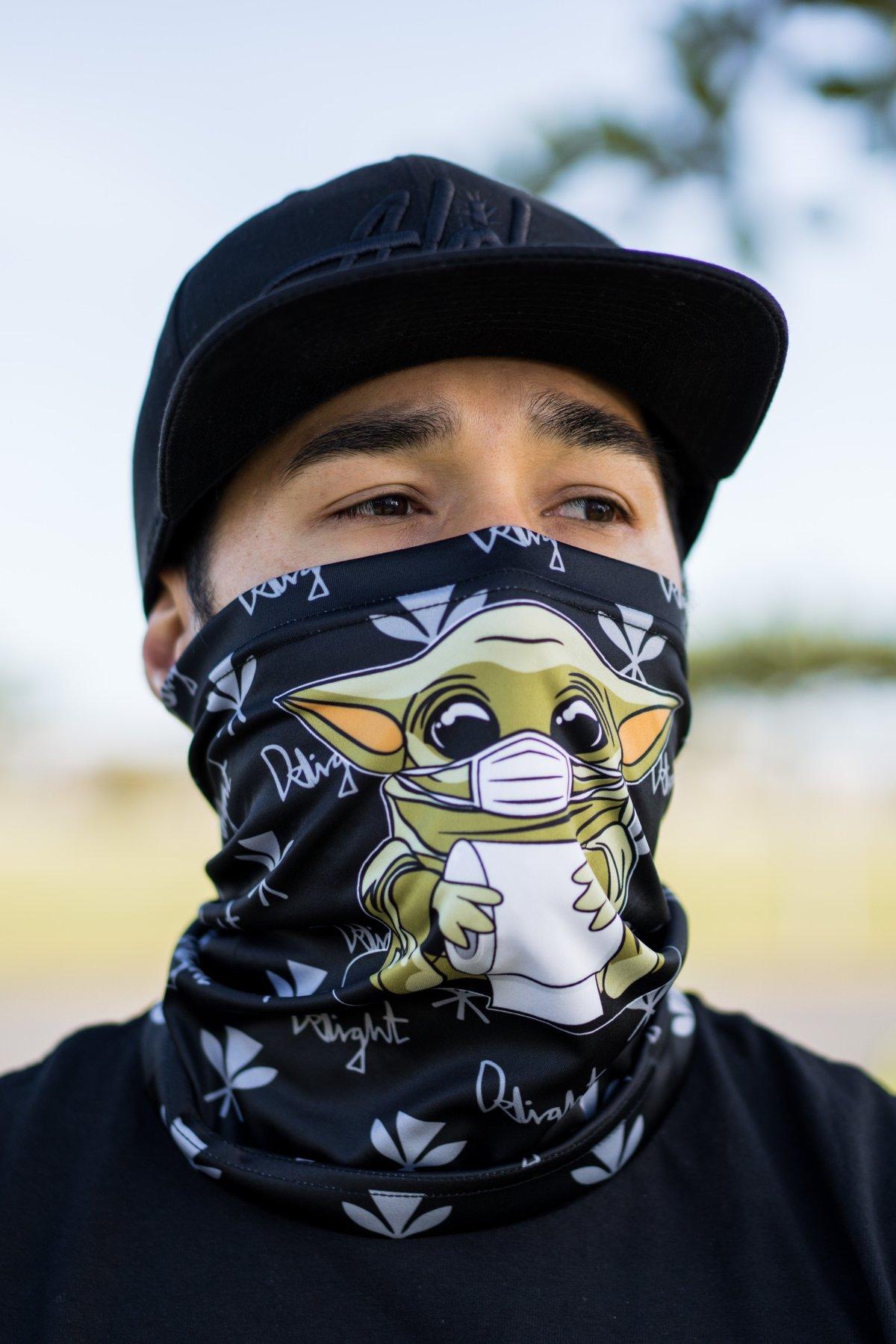 Baby Yoda Face Shield