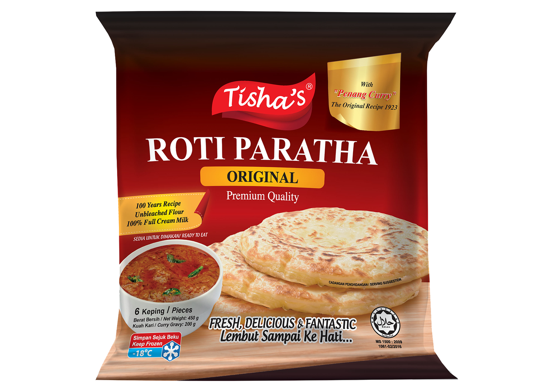 Image of ROTI PARATHA ORIGINAL CURRY