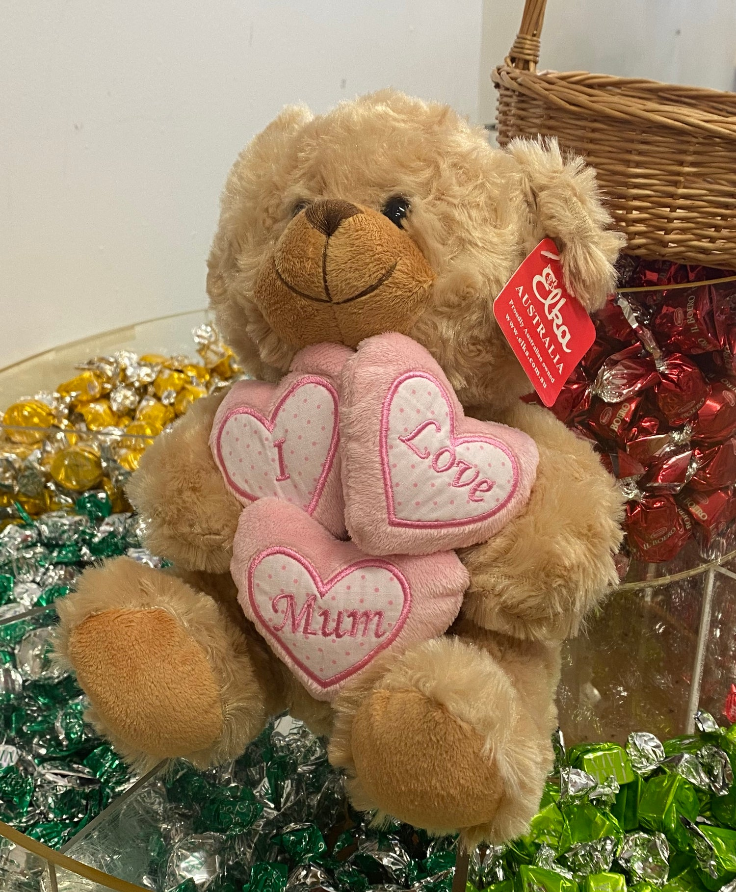 Image of I LOVE MUM Bear