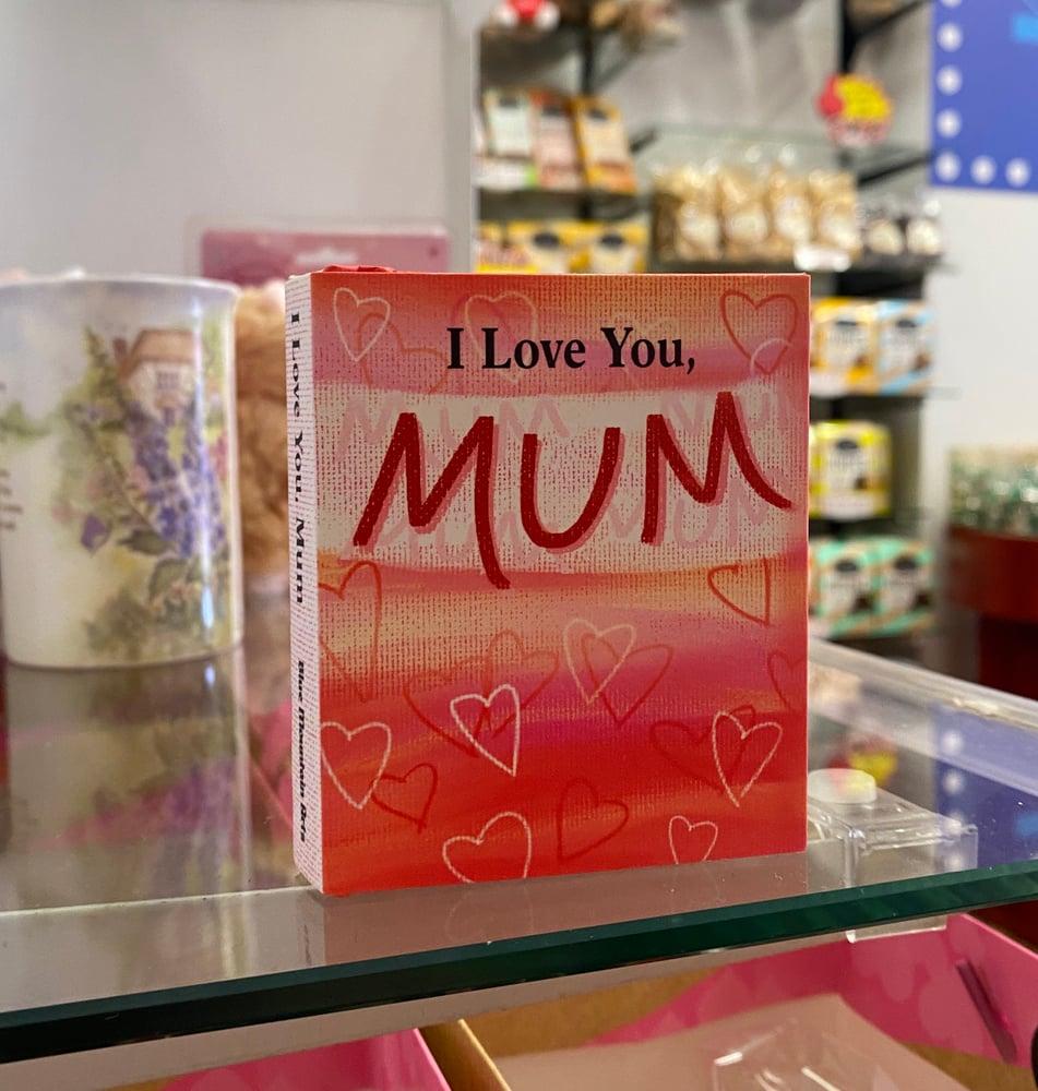 "Image of Mini ""I Love You, Mum"" Book"
