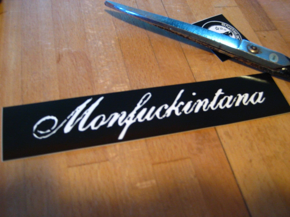Image of Sticker: Monfuckintana