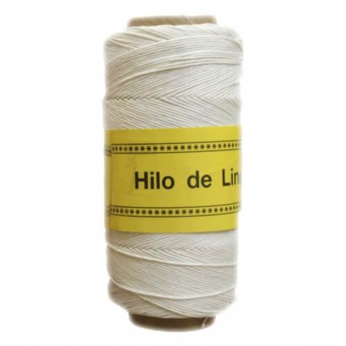 Image of Hilo de lino encerado para Encuadernación blanco - Bookbinding Thread - Precio Especial