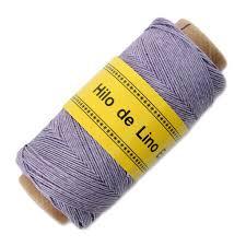 Image of Hilo de lino para Encuadernación lila - Bookbinding thread  Lilac color - Precio Especial