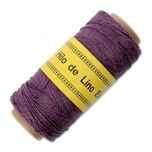 Image of  Hilo de lino para Encuadernación morado - Bookbinding thread  purple - Precio Especial