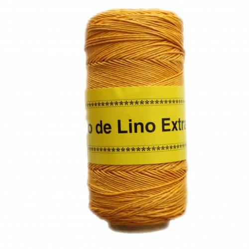 Image of  Hilo de lino para Encuadernación amarillo - Bookbinding thread  yellow - Precio Especial