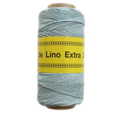 Image of  Hilo de lino para Encuadernación azul claro - Bookbinding thread  light blue - Precio Especial