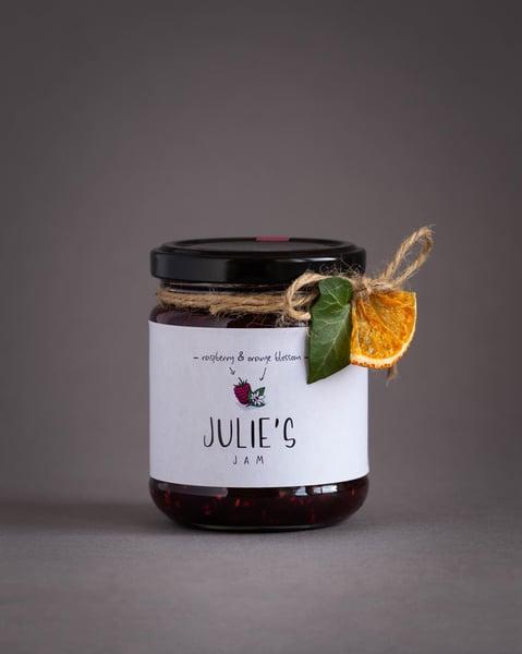 Image of Raspberry and Orange Blossom Jam