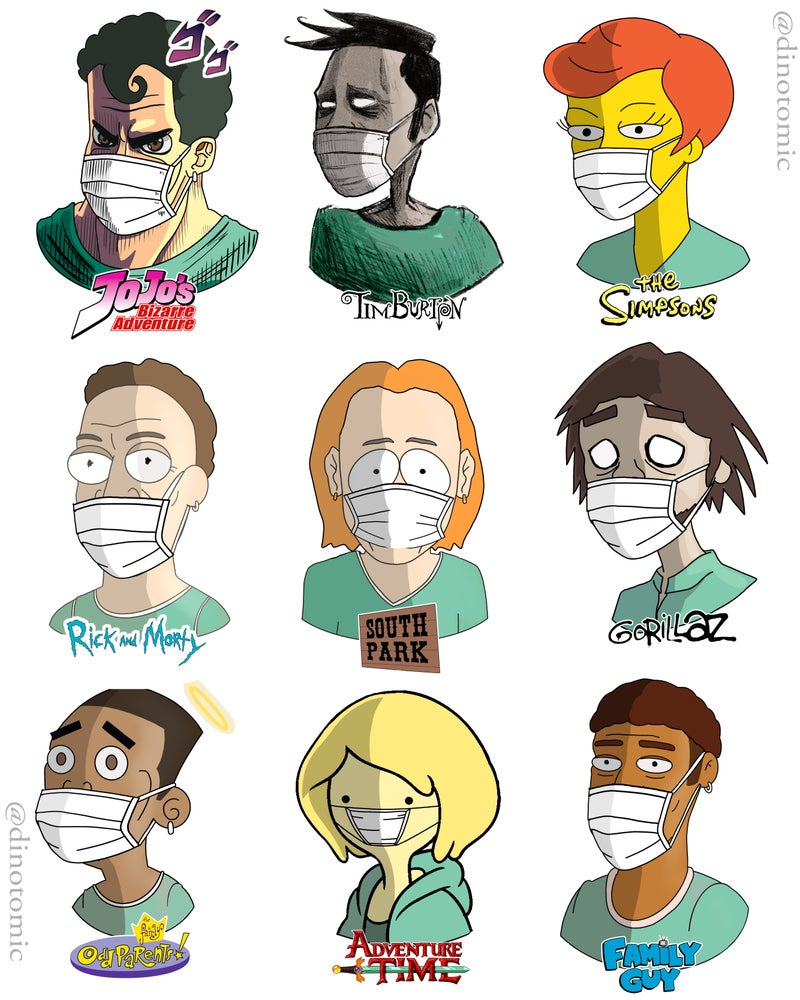 Image of #190 Doctors in many styles