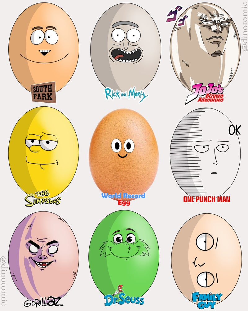Image of #191 Eggs in many styles