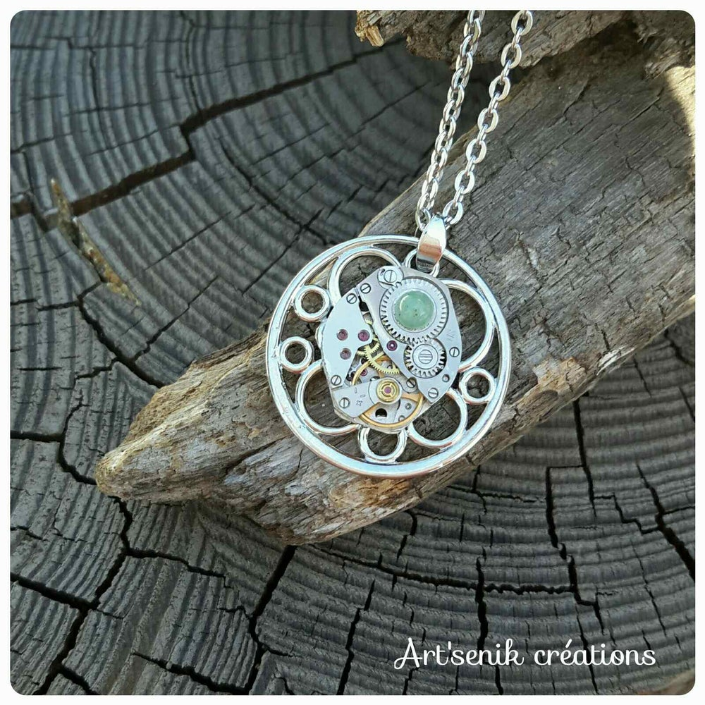 Image of collier fond rond