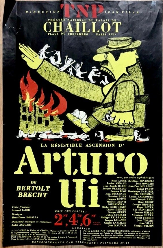 Image of jacno /  21/130 théâtre national populaire posters