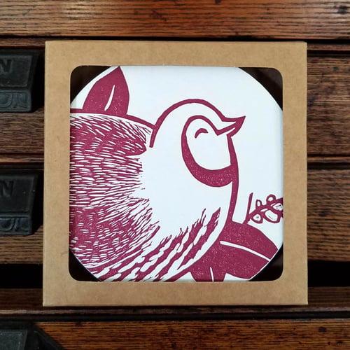 Image of Partridge Coasters