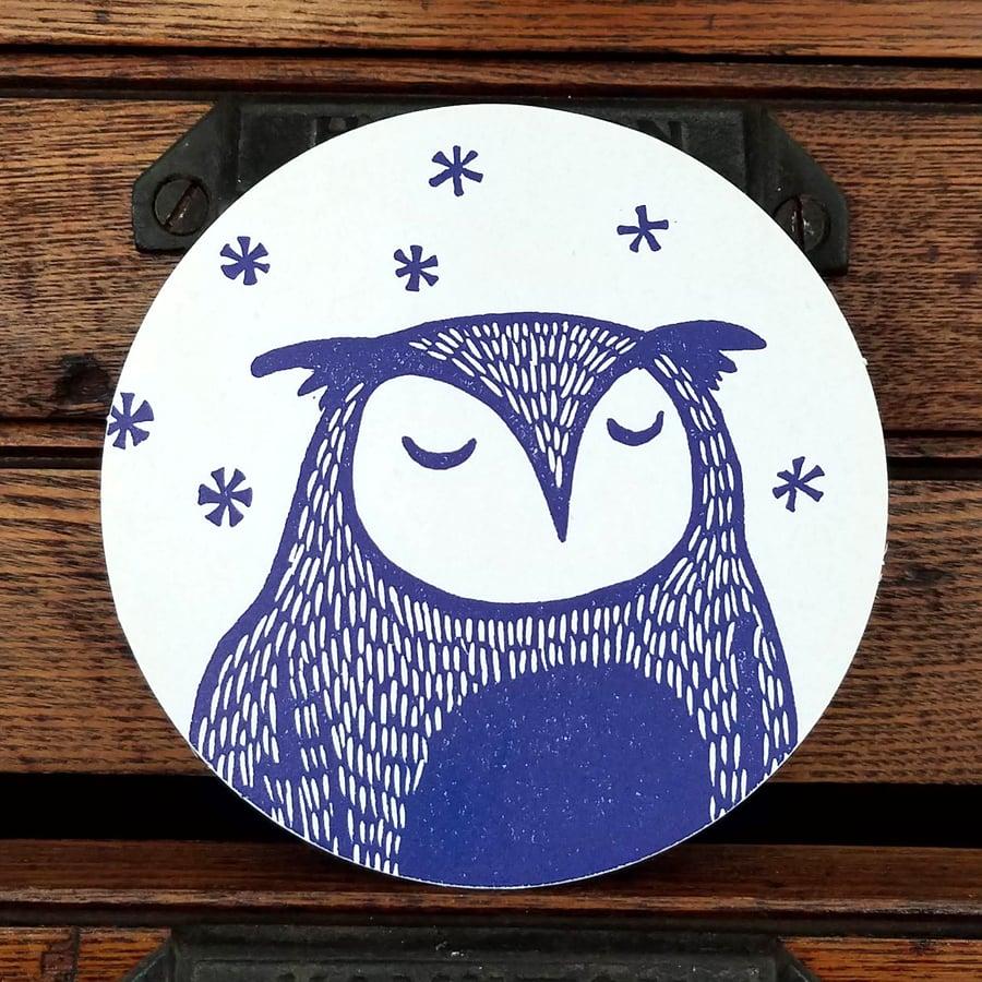 Image of Sleepy Owl Coasters