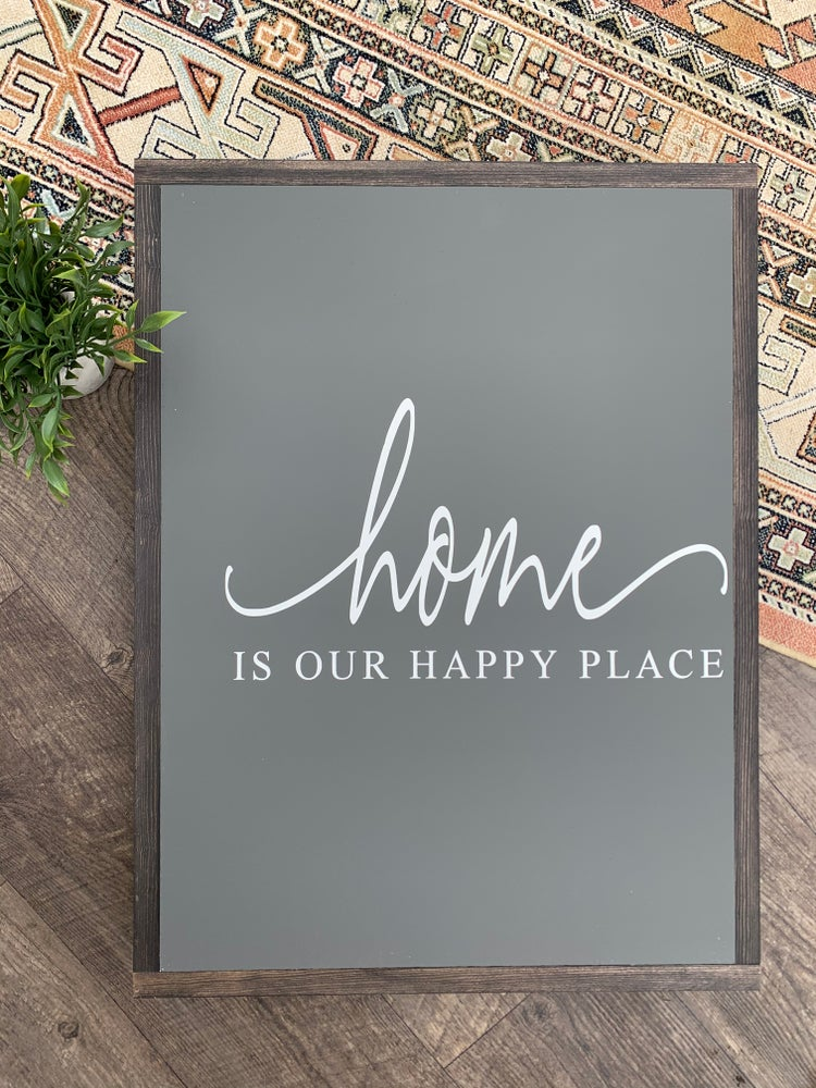 Image of Home Is Our Happy Place